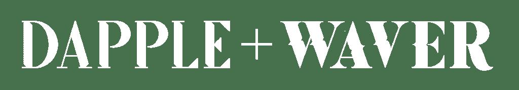 Dapple And Waver Logo Horizontal